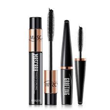 2pcs 4D Silk Fiber Eyelash Mascara Extension Curl Waterproof + Lash Mascara Kit