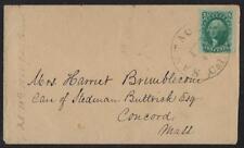 US 1861 CIVIL WAR COVER FRANKED Sc 35 TIED SANTA CLARA ISLAND 22 MILES SOUTHWEST