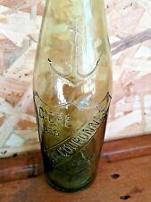 """ancienne bouteille """" CIDRE DES DEUX COURONNES """" BISTROT BAR BOISSON"""