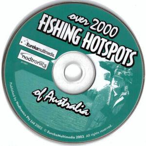 Over 2000 Fishing Hotspots of Australia PC Mac CD-ROM