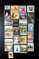 Worldwide Stamp Label Collection Lot of 27