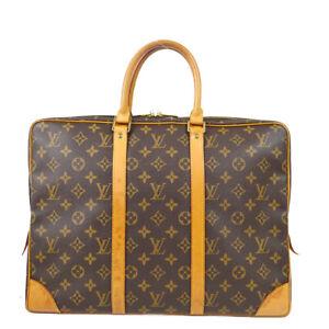 LOUIS VUITTON PORTE DOCUMENTS VOYAGE HAND BAG MONOGRAM M53361 TH1926 71675
