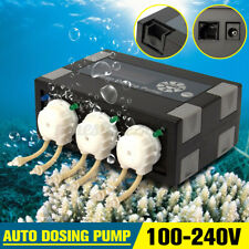 Jebao Jecod DP-3 Auto Peristaltic Marine Dosing Pumps Programmable For