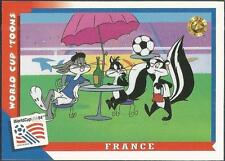 UPPER DECK WORLD CUP USA 1994-LOONEY TOONS- #059-FRANCE