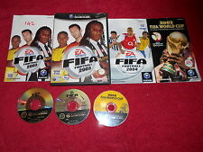 FIFA FOOTBALL 03 & FIFA FOOTBALL 04 & 2002 FIFA WORLD CUP NINTENDO GAMECUBE PAL