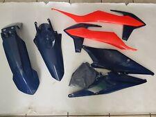 KIT PLASTICHE KTM SX 125 250 300 2019 4 PZ COLORE LIMITED EDITION