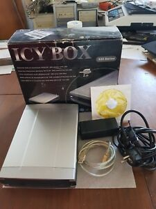 Lecteur Externe HL-DT-ST DVD-ROM GDR8162B USB dans Boitier Aluminium ICY BOX 525