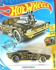 HOT WHEELS 2020 ART CARS #8/10 67/250 best for track art cars RODGER  DODGER MOC