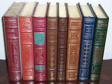 Franklin Library SIGNED FIRST EDITION Collection in 8 volumes - Limited Ed.