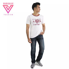 Vargaux's Bindwood Men Casual Jeans Relax Fit Denim Pants (Light) Size 35