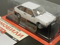 1:24 VAZ-2108 Lada Samara 1300S (длинное крыло) #80 Hachette Legend Soviet Cars