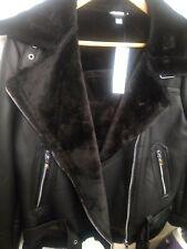 Bnwt topshop aviator jacket size 10