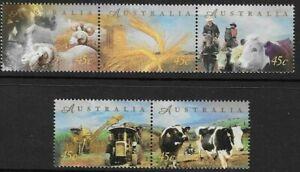 MINT 1998 FARMING STAMP SET