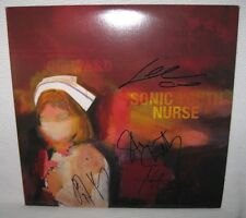SONIC YOUTH (4 AUTOS) SIGNED 'SONIC NURSE' ALBUM COVER PSA/DNA LOA