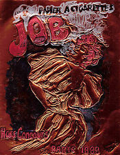 """JOB"" by JULES CHERET ETCHED BY R FREEMAN IN COPPER FOIL 8""X10"""