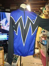SUGOI racing cycling Jacket size 2 X BLUE BLACK