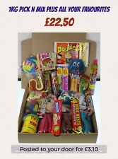 HUGE sweet box, hamper, Pick And Mix, Posting box, Movie Night In