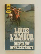 Louis L´Amour Reiter auf dunkler Fährte Roman Western Heyne Verlag