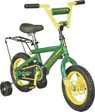 "NEW JOHN DEERE 34938 HEAVY DUTY 12"" TRAINING / BIKE BICYCLE WITH TRAINING WHEELS"