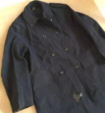 Vtg 1950s Mens Rubberised Cotton Macintosh Trench Coat