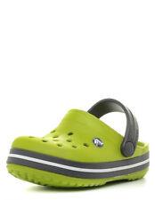 Crocs Crocband [Talla 19-21 Eu] Niños Niño Zuecos Verde Nuevo y Emb. Orig.