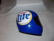 Miller Lite Inflatable Blow Up Racing Helmet Rare Vintage Promotional Helmet