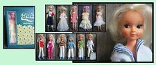 Vintage Fleur (dutch Sindy) fashion doll, dollcase and a lot of clothes
