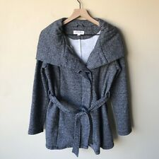 Merona belted sweater coat S