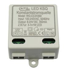 LED Konstantstromquelle|Treiber|8-24V|350mA|KSQ|für z.B. 3-7x 1W LED|7W|Driver
