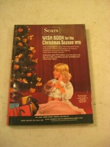 SEARS WISH BOOK 1970 CHRISTMAS CATALOG CLOTHING TOYS GUNS TOOLS ECT PAGES 607