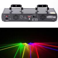 460mW 4 Lens 4 Beam RGPY DJ Laser Lights Stage Lighting Party Show DMX 7CH Bar