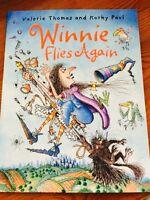 Winnie Flies Again by Valerie Thomas and Korky Paul (NEW) **Free P & P**