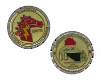 US Army HHC 3BSTB Workhorse OIF 09-11 Excellence Challenge Coin