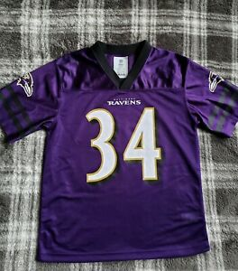 New A. Collins #34 Baltimore Ravens NFL Team Apparel Youth Jersey size L(12/14)