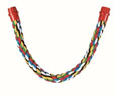 Trixie Flexible Rope Bird Perch For Budgies Canaries Cockatiels Parrots - 3 Size