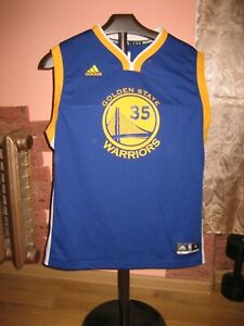 Kevin Durant #35 NBA Golden State Warriors Adidas Jersey size XL(18/20)