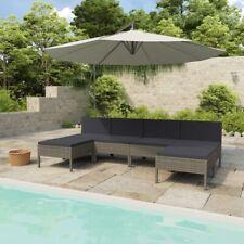 6tlg Lounge Möbel Sofa Gartenset Gartengarnitur Sitzgruppe Garnitur Polyrattan