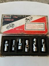 vintage snap on tools collectible flexocket set with box