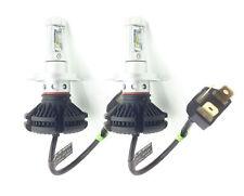 H4 50W verstellbar LED Scheinwerferlampen Satz 6000 Lumen Canbus für Peugeot