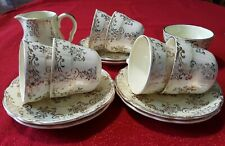 Brama 14 piece 1950's Vintage Midwinter Chintz Tea Service - Very Rare