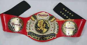 New JCW World Juggalo Heavyweight Wrestling Championship Title Belt Adult