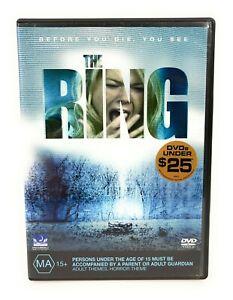 The Ring (DVD, 2002) Naomi Watts Region 4