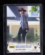 Walking Dead season 4 part 1  #35 Silver Parallel card 11/99