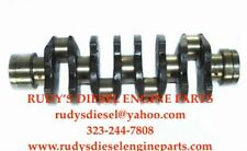 New 4HE1-T Crankshaft + Rod & Main bearings for Isuzu NPR NQR Diesel 4.8L 99-004