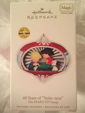 "2010 Hallmark Magic Ornament Peanuts 60 Years of ""Suite-ness"" New Lucy Snoopy"