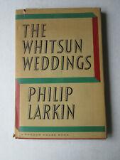Philip Larkin – The Whitsun Weddings – 1964 Hardcover Book with Dust Jacket