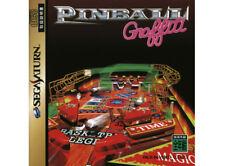 # Sega Saturn pinball Graffi + spinecard (JAP/jp import) - ETAT NEUF #