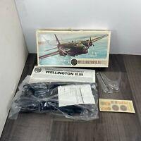 Vintage Airfix Wellington B.III 1/72 Scale Model Kit 04001-5 SEALED INSIDE