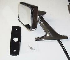 1962 1963 1964 1965 Lincoln Continental New Rear View Mirror Drivers Door