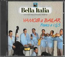 """FRANCO E I G5 - RARO CD 1989 FUORI CATALOGO """" VAMOS A BAILAR """""""